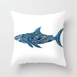 shark do do II Throw Pillow