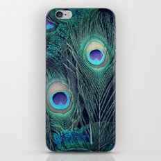 Peacock iPhone & iPod Skin