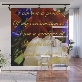 Flowering Thoughts Wall Mural