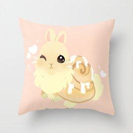 SinnaBunnie  Throw Pillow