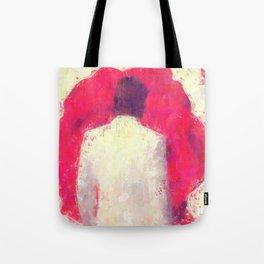Blood Red Rose Tote Bag