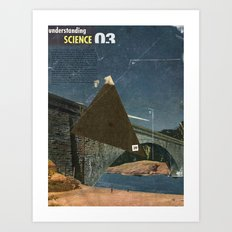 Understanding science - collage a day keeps the doctor away Art Print