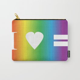 I heart Equality Carry-All Pouch