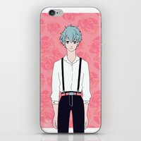 kuroko iPhone & iPod Skins featuring Kuroko by Liyu
