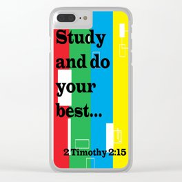 Study Clear iPhone Case