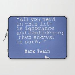 Mark Twain quote 5 Laptop Sleeve