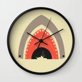 Great White Bite Wall Clock