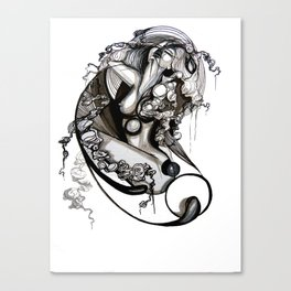 Rhythm of my Heart Canvas Print
