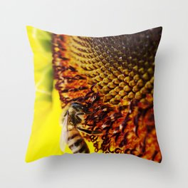 Busybee Throw Pillow