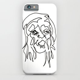 Tenement Lady iPhone Case