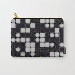 B&W Pattern III Carry-All Pouch