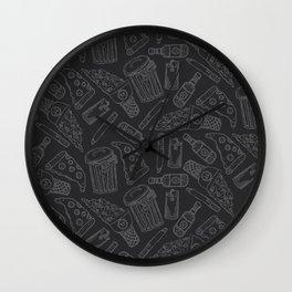 Grunge Wall Clock