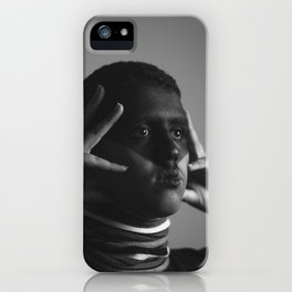 Grab what you can and go iPhone Case