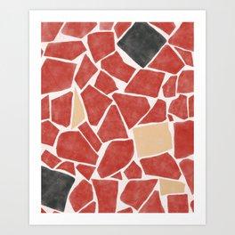 Caco II Art Print