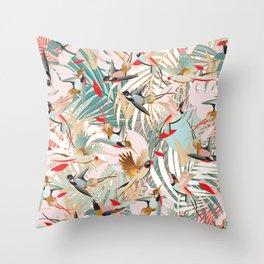 Tropical Mood I. Throw Pillow
