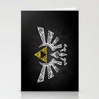hyrule Stationery Cards featuring Zelda Hyrule by Art & Be