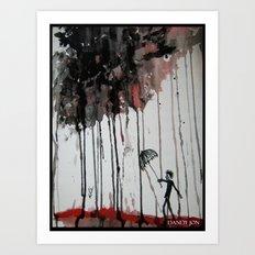 Braindrops Art Print