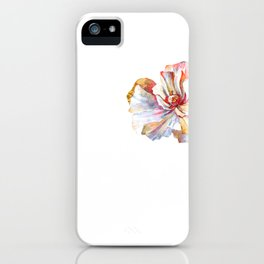The Vintage Flower of Serenity - Light Version iPhone Case