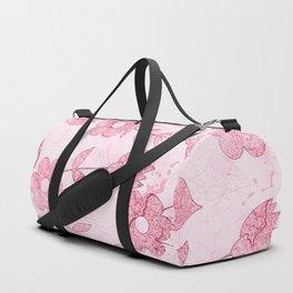 Watercolor Floral II Duffle Bag