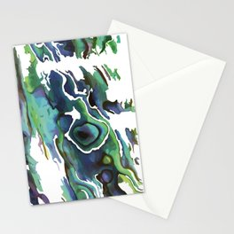 Marble Paua Stationery Cards