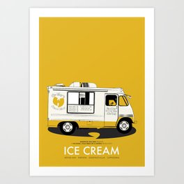 Raekwon of Wu-Tang - Ice Cream Art Print