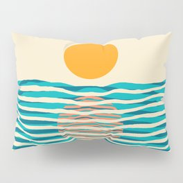 Ocean current Pillow Sham