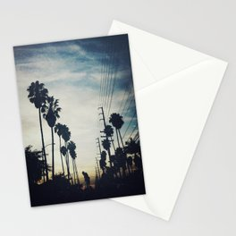 December evening Stationery Cards