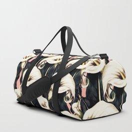 Pattern Calla lily flower Duffle Bag