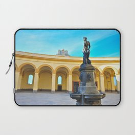 Trapani, Sicily - Statue Laptop Sleeve