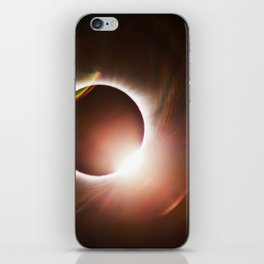 Diamond Ring - Great American Eclipse 2017 iPhone Skin