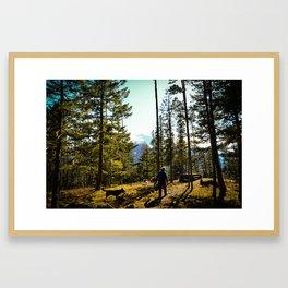 BC BC Framed Art Print