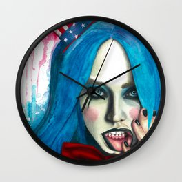 Captain Spaulding Wall Clock