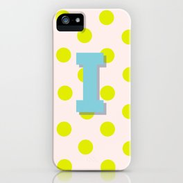 I is for Inspiration iPhone Case