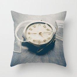 Smashed Wrist Watch Throw Pillow
