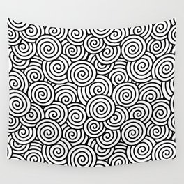 Chinese/Waves Wall Tapestry