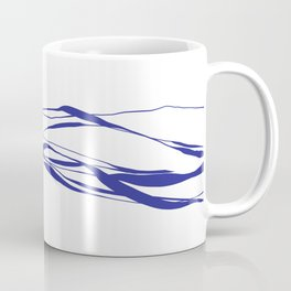 A Bottomless Sea No. 2 Blue Coffee Mug