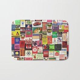 Antique Matchbooks Bath Mat