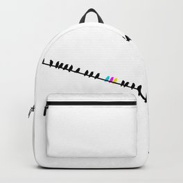 on a wire Backpack