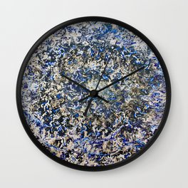EMERALD ABYSS Wall Clock