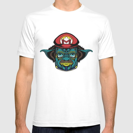 Mario + Yoda = Mariyoda T-shirt