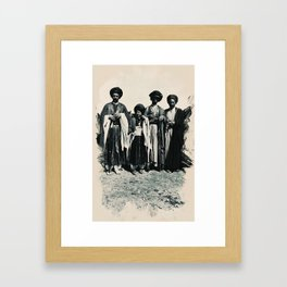 Kurdish People from the Past 1911 Framed Art Print