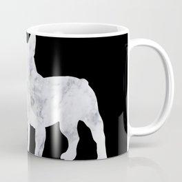 French bulldog marble noir Coffee Mug