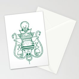 Captain Nicetits Stationery Cards