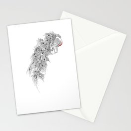 Peacock II Stationery Cards