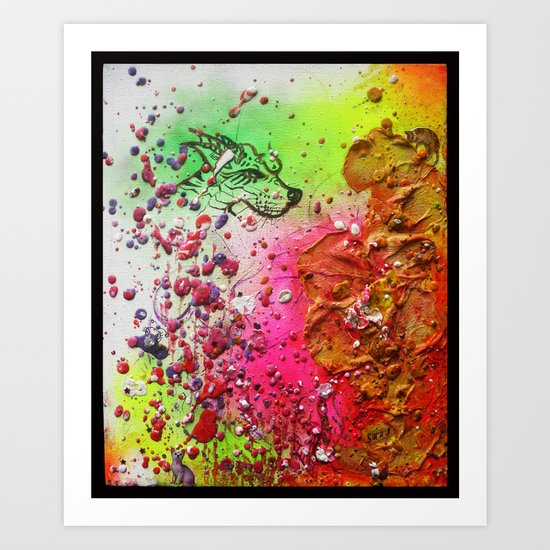 FallenWorlds Art Print