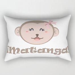 Matanga dijo la changa funny mexican design Rectangular Pillow