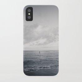 calm day ver.black iPhone Case