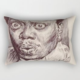 Bernie Mac Portrait Rectangular Pillow