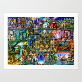 Once Upon a Fairytale Art Print