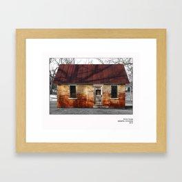 The Tin House Framed Art Print